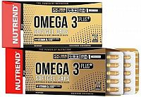 OMEGA 3 PLUS SOFTGEL CAPS, 120 kapslí