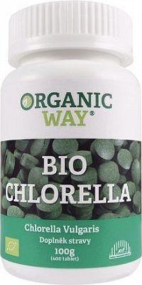 Organic WAY Chlorella Bio 100g tbl.400