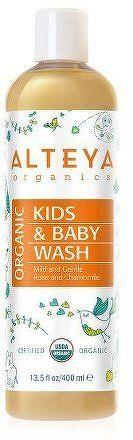 Organický dětský sprchový gel Alteya 400 ml