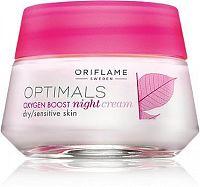 Oriflame Noční krém pro suchou/citlivou pleť Optimals Oxygen Boost 50ml