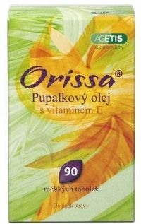 Orissa Pupalkový olej s vitaminem E cps.90