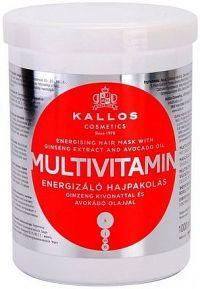 Oživující maska na vlasy s multivitamíny (Multivitamin with Ginseng Extract and Avocado Hair Mask) - Objem: 1000 ml