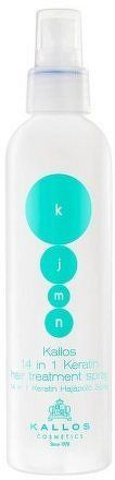 Pečující keratinová maska ve spreji 14 v 1 KJMN (14 in 1 Keratin Hair Treatment Spray) 200 ml