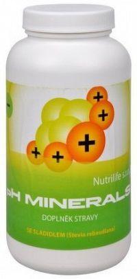 pH Minerals 320g  na odkyselení organismu