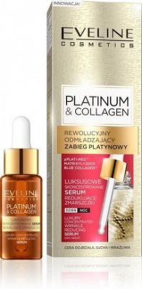 Platinum & Collagen - Koncentrované sérum redukující vrásky
