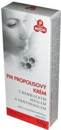 PM Propolisový krém s bambuc.máslem+panthenol 50g