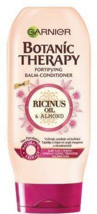 Posilující balzám s ricinovým a mandlovým olejem pro slabé a lámající se vlasy Botanic Therapy (Fortifying Balm -Conditi