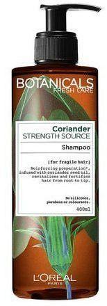 Posilující šampon na jemné a slabé vlasy Botanicals (Strength Source Shampoo) 400 ml