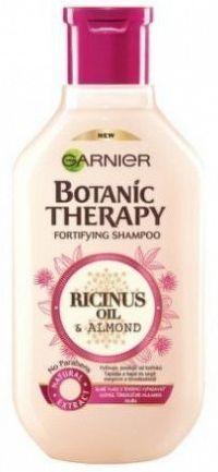 Posilující šampon s ricinovým a mandlovým olejem pro slabé a lámající se vlasy Botanic Therapy (Fortifying Shampoo) 250