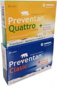 Preventan Clasic tbl.30 + Quattro citron tbl.12