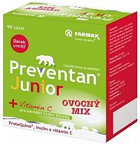Preventan Junior ovoc.mix tbl.90 limitovaná edice
