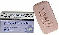 Přírodní jemné kosmetické mýdlo s extrakty z kozího mléka (tuhé) 100g