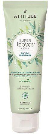 Přírodní kondicionér ATTITUDE Super leaves s detoxikačním účinkem - vyživující pro suché a poškozené vlasy 240 ml