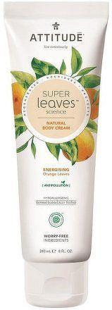 Přírodní tělový krém ATTITUDE Super leaves s detoxikačním účinkem - pomerančové listy 240 ml