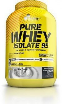 Pure Whey Isolate 95, 2200 g, Olimp, Jahoda
