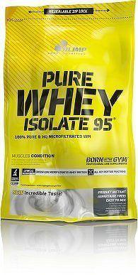Pure Whey Isolate 95, 600 g, Olimp, Čokoláda