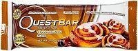 Quest Nutrition, Quest Bar, 60 g, Cinnamon Roll - Natural