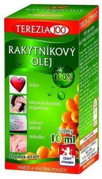 Rakytníkový olej kapky 10ml