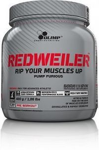 Redweiler, 480 g, Olimp, Red Punch