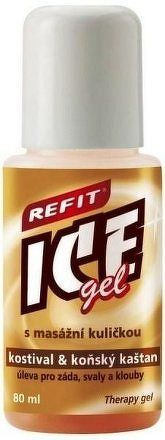 Refit Ice gel roll-on s kostivalem 80ml hnědý