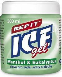 Refit Ice masážní gel s eukalyptem 500ml zelený