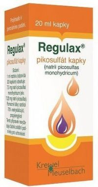 Regulax Pikosulfat kapky gtt.1x20ml/150mg