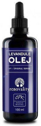 Renovality Levandulový olej lisovaný za studena 100ml