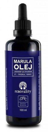 Renovality Marulový olej lisovaný za studena 100 ml