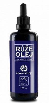 Renovality masážní a tělový olej Růže 100ml