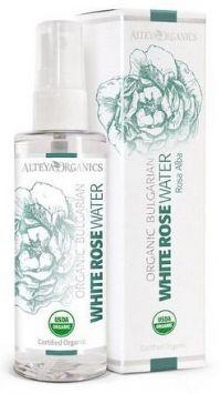 Růžová voda z bílé růže bio Alteya 100 ml