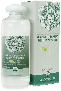 Růžová voda z bílé růže bio Alteya 500 ml