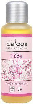 SALOOS Tělový a masážní olej Růže 50ml