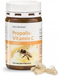 Sanct Bernhard Propolis - Vitamin C 90 kapslí