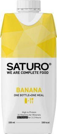 Saturo Banana 330 ml