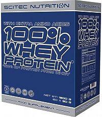 SciTec Nutrition 100% Whey Protein mix příchutí 60 x 30 g