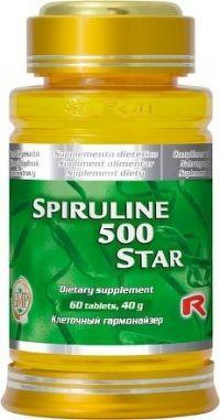 Spiruline 500 Star 60 tbl