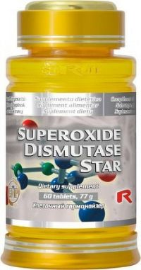 STARLIFE SUPEROXIDE DISMUTASE STAR 60 tbl