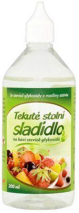 Stevia tekutá 200ml