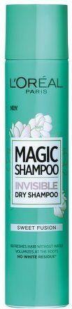 Suchý šampon pro objem vlasů Magic Shampoo (Invisible Dry Shampoo) 200 ml - 03 Sweet Fusion