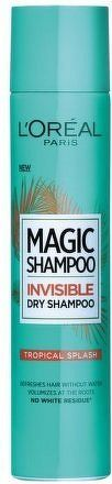 Suchý šampon pro objem vlasů Magic Shampoo (Invisible Dry Shampoo) 200 ml - 04 Tropical Splash
