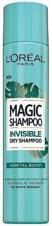 Suchý šampon pro objem vlasů Magic Shampoo (Invisible Dry Shampoo) 200 ml - 05 Vegetal Boost