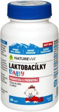 Swiss NatureVia Laktobacílky baby cps.60