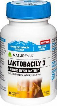 Swiss NatureVia LAKTOBACILY 3 cps.30