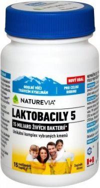 Swiss NatureVia LAKTOBACILY 5 cps.15