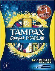 Tampax tampony Compak Pearl Regular 8ks