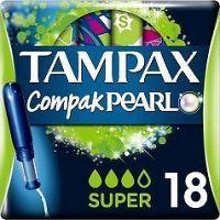 Tampax tampony Compak Pearl Super 18ks