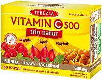 TEREZIA Vitamin C 500mg TRIO NATUR cps.60