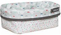 Textilní košík na kojenecké potřeby Bébé-Jou Wheely