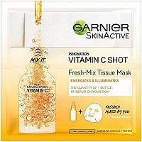 Textilní maska s vitamínem C pro hydratovanou a zářivou pleť Fresh Mix (Tissue Mask) 33 g