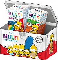 The Simpsons Multivitaminy v plechové dóze